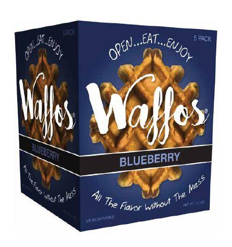 Liege Blueberry Waffle
