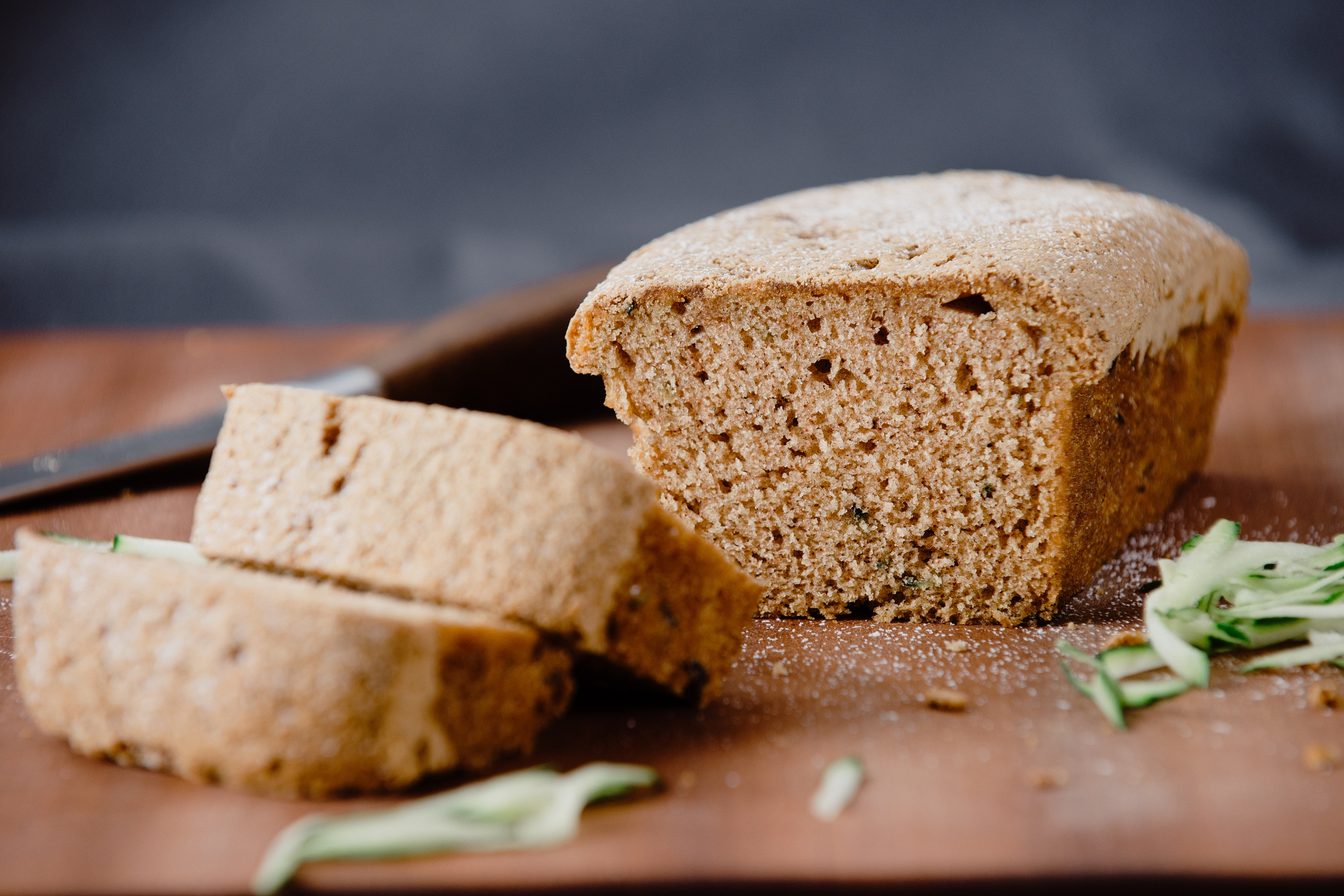 Baked by Susan Zucchini Bread