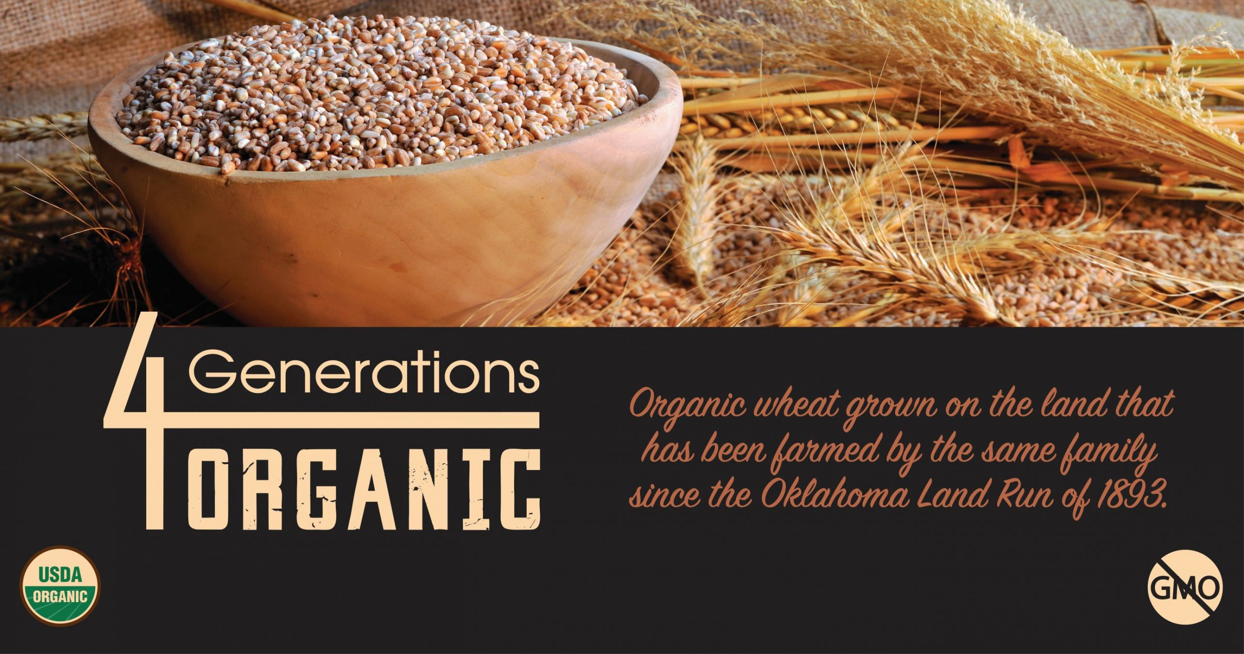 4 Generations Organic Official Banner