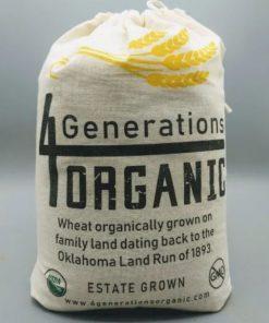 Organic Ruby Lee Whole Wheat Flour 5lbs