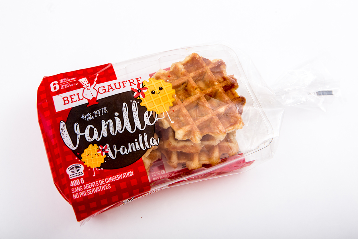 Vanilla Liege Waffles