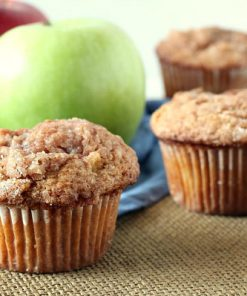 Apple Cinnamon Muffin Batter