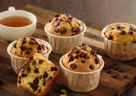 Chocolate Chip Muffin Batter