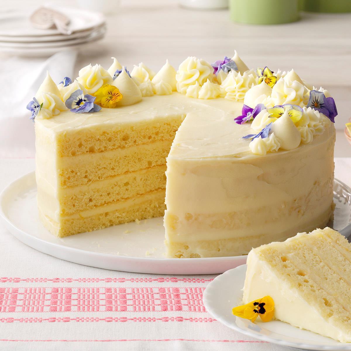 Fancy Yellow Cake