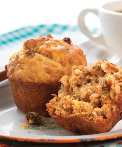 Fat-free Carrot Raisin Muffin Batter
